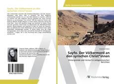 Copertina di Sayfo. Der Völkermord an den syrischen Christ*innen