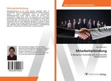Buchcover von Mitarbeiterbindung