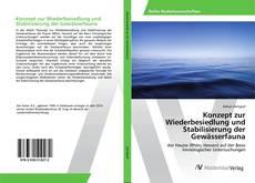 Buchcover von Konzept zur Wiederbesiedlung und Stabilisierung der Gewässerfauna
