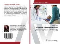 Buchcover von Chronisch erkrankte Kinder