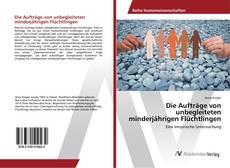 Buchcover von Die Aufträge von unbegleiteten minderjährigen Flüchtlingen