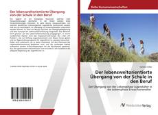 Bookcover of Der lebensweltorientierte Übergang von der Schule in den Beruf