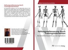 Buchcover von Haltungsverbesserung durch Trainingsintervention