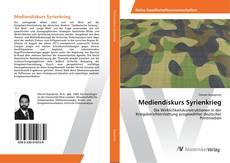 Buchcover von Mediendiskurs Syrienkrieg