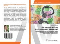 Bookcover of Das österreichische Bankgeheimnis im Wandel