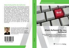 Buchcover von (K)ein Aufwand für den Aufwand