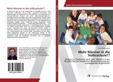 Mehr Männer in die Volksschule!? kitap kapağı
