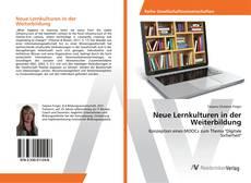 Couverture de Neue Lernkulturen in der Weiterbildung