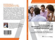 Bookcover of Veränderungen im Personalmanagement in NÖ Landespflegeheimen seit 2005