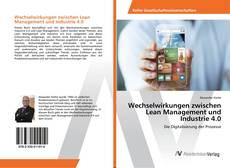Buchcover von Wechselwirkungen zwischen Lean Management und Industrie 4.0