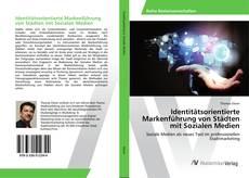 Buchcover von Identitätsorientierte Markenführung von Städten mit Sozialen Medien
