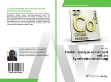 Bookcover of Strukturanalyse von Kobalt mittels Synchrotronstrahlung