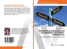 Beurteilung allgemein und im Speziellen von MTDG-Praktikanten kitap kapağı