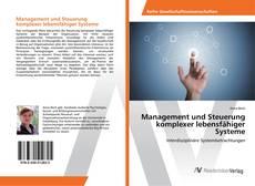 Portada del libro de Management und Steuerung komplexer lebensfähiger Systeme