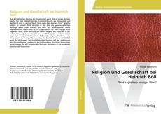 Buchcover von Religion und Gesellschaft bei Heinrich Böll
