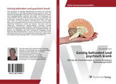 Portada del libro de Geistig behindert und psychisch krank
