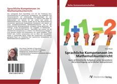Buchcover von Sprachliche Kompetenzen im Mathematikunterricht