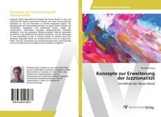 Bookcover of Konzepte zur Erweiterung der Jazztonalität