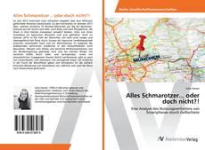 Bookcover of Alles Schmarotzer... oder doch nicht?!