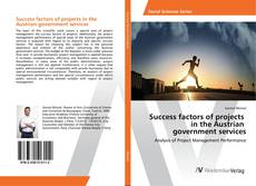 Portada del libro de Success factors of projects in the Austrian government services