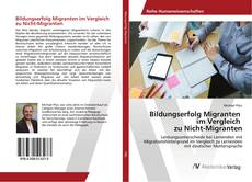 Buchcover von Bildungserfolg Migranten im Vergleich zu Nicht-Migranten