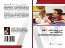 Portada del libro de ADHS bei Kindern und Jugendlichen