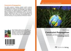 Bookcover of Constraint Propagation