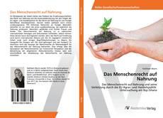 Capa do livro de Das Menschenrecht auf Nahrung