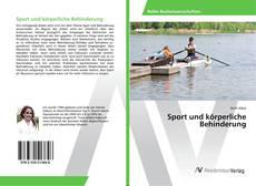 Buchcover von Sport und körperliche Behinderung
