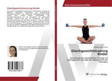 Gleichgewichtstraining Kinder kitap kapağı
