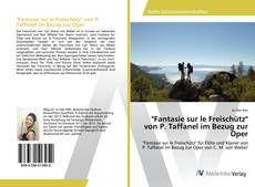 "Portada del libro de ""Fantasie sur le Freischütz"" von P. Taffanel im Bezug zur Oper"