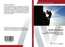 Portada del libro de Sucht und Sport