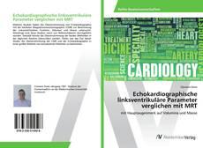 Buchcover von Echokardiographische linksventrikuläre Parameter verglichen mit MRT