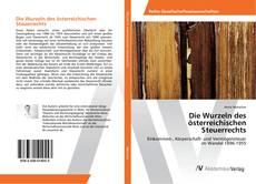 Buchcover von Die Wurzeln des österreichischen Steuerrechts