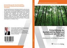 Copertina di Entwicklung der Sustainability Balanced Scorecard am Beispiel SinusPro