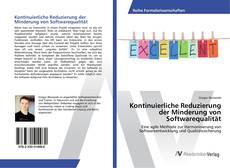 Bookcover of Kontinuierliche Reduzierung der Minderung von Softwarequalität