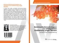 Buchcover von Kommunikationsstrategien zur erfolgreichen Etablierung junger Marken