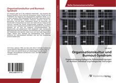 Organisationskultur und Burnout-Syndrom的封面