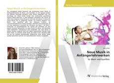 Portada del libro de Neue Musik in Anfängerlehrwerken