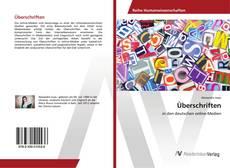 Bookcover of Überschriften
