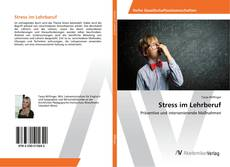 Обложка Stress im Lehrberuf