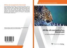 Capa do livro de Afrika als europäisches Konstrukt