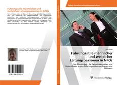 Portada del libro de Führungsstile männlicher und weiblicher Leitungspersonen in NPOs