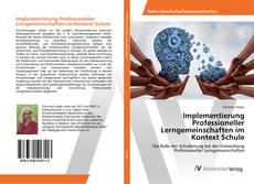 Portada del libro de Implementierung Professioneller Lerngemeinschaften im Kontext Schule