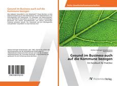 Buchcover von Gesund im Business-auch auf die Kommune bezogen