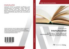 Capa do livro de Interkulturalität