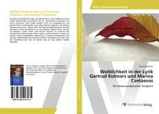 Portada del libro de Weiblichkeit in der Lyrik Gertrud Kolmars und Marina Cvetaevas