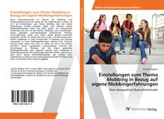 Buchcover von Einstellungen zum Thema Mobbing in Bezug auf eigene Mobbingerfahrungen