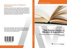 """""""Key Success Factors in Mergers & Acquisitions"""" kitap kapağı"""