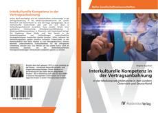 Capa do livro de Interkulturelle Kompetenz in der Vertragsanbahnung